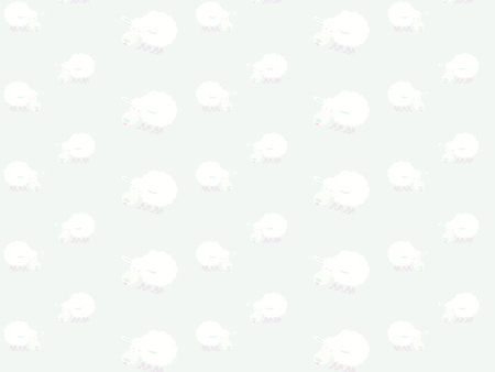 seamless sheep pattern Happy new year 2015  Vector