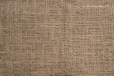 Close-up van bruin geweven oppervlakte, jute textuur achtergrond