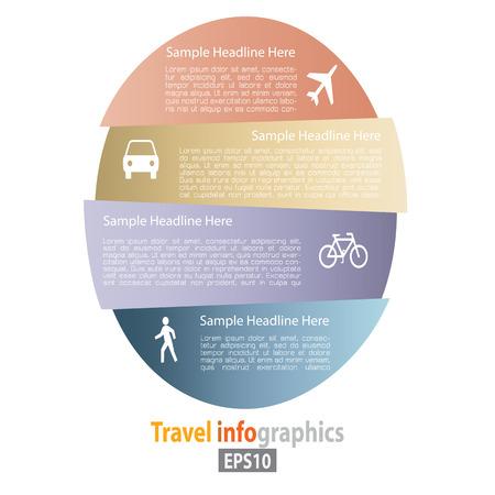 plus icon: Flat Transportation Infographic Elements plus Icon. Vector.
