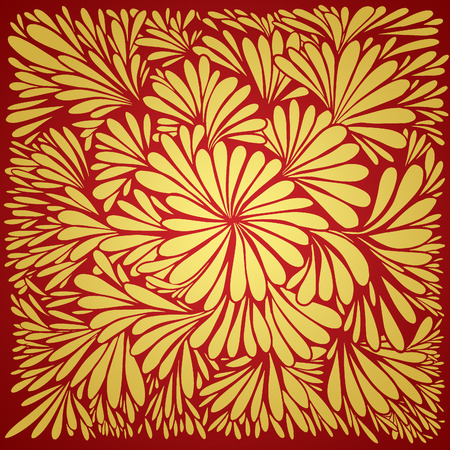 old fashioned: Luxury wallpaper. Vintage Floral pattern Vector background.