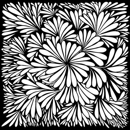 Luxury wallpaper. Vintage Floral pattern Vector background.