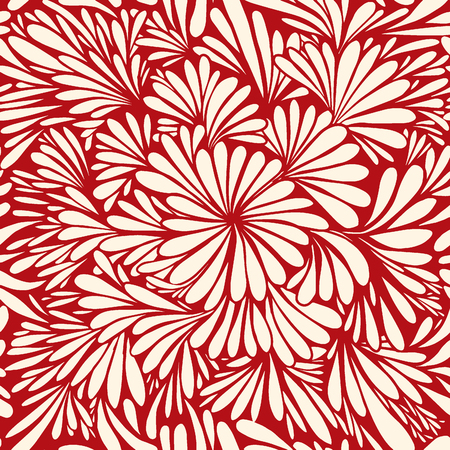 Luxury wallpaper. Vintage Floral pattern Vector background.Seamless pattern  イラスト・ベクター素材