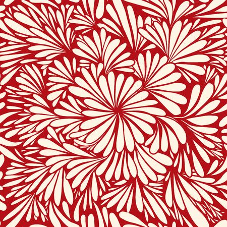 Luxury wallpaper. Vintage Floral pattern Vector background.Seamless pattern 일러스트