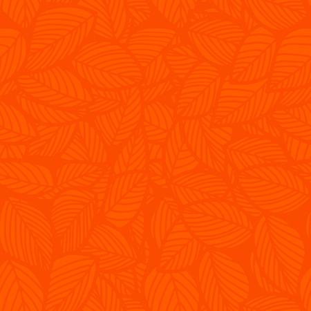 리프 원활한 벡터 플로랄 패턴 배경입니다. 벡터 일러스트 레이 션