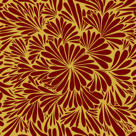 Luxury wallpaper. Vintage Floral pattern Vector background.Seamless pattern