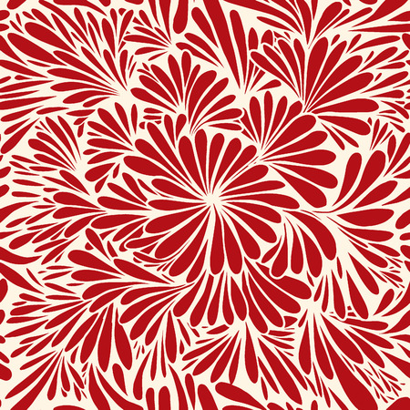 Luxury wallpaper. Vintage Floral pattern Vector background.Seamless pattern Ilustracja