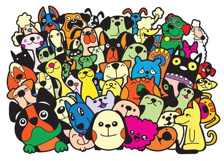 Différentes espèces d'animaux Banque d'images - 87901496