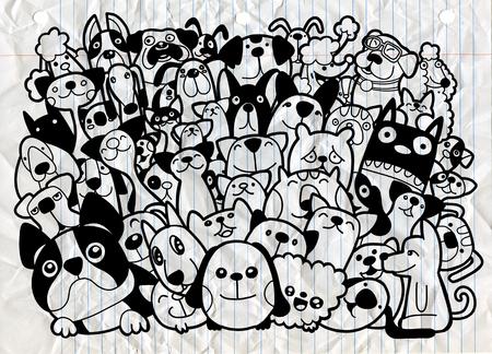 Different species of  animals Иллюстрация