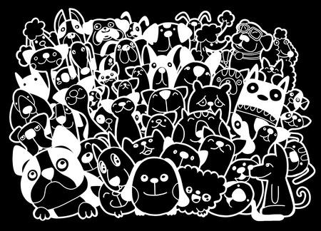 Different species of  animals Ilustrace