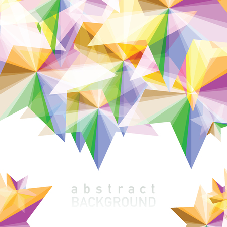 Vector illustration of Abstract geometric background with place for your text.