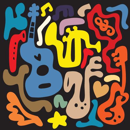 Instrument de musique doddle. Banque d'images - 88114114