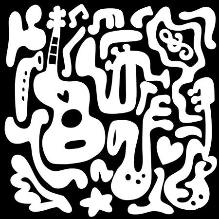 Instrument de musique illustration Banque d'images - 88114049