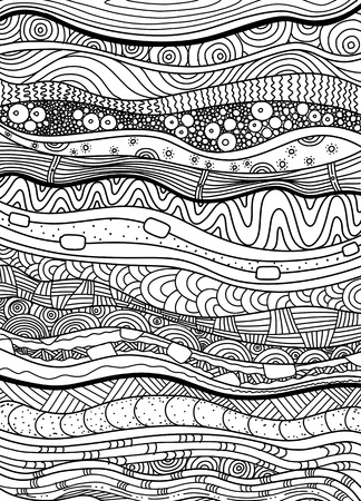 Vector pattern with background. Pattern for invitations, posters, coloring. flyers, spa, Vector illustration.