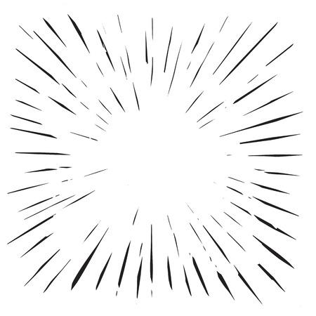 Vintage Sunburst Design Vector Template,vector Illustration Illusztráció