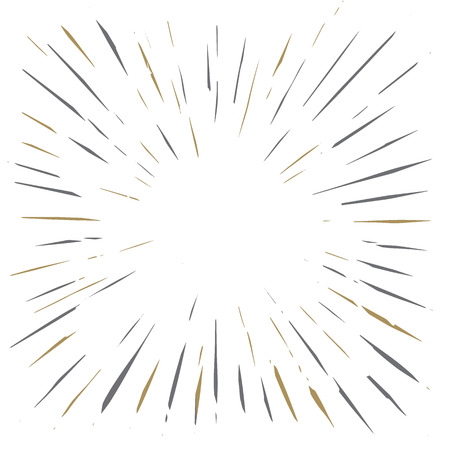 Vintage Sunburst Design Vector Template,vector Illustration Banco de Imagens - 110957553