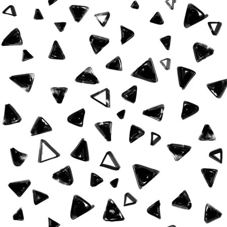 Seamless pattern with  doodle triangles. vector background  for printing, website, fabric, poster, cards Illustration