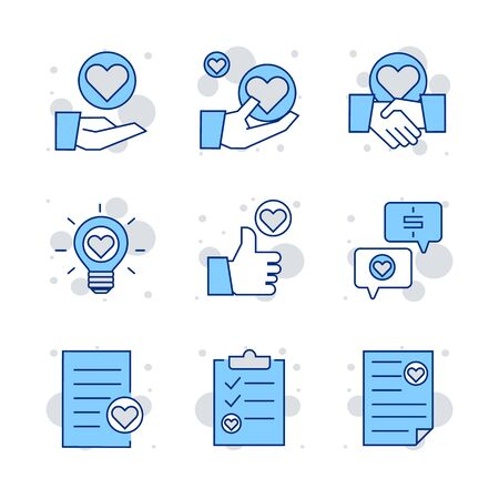 Premium set of heart line icons, icon set suitable for info graphics, websites and print media.  The icon set is pixelperfect with 64 X 64  grid. Crafted with precision and eye for quality.
