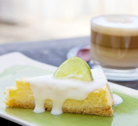 pie de limon: Tarta de queso de lim�n