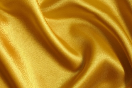 smooth gold satin  background photo