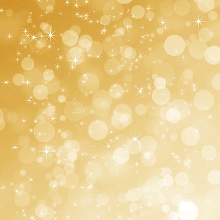 Abstract gold Christmas background  Stock Photo