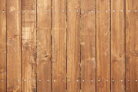 wood fence in vertical
