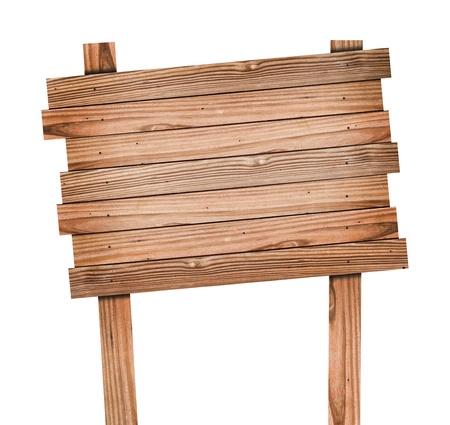 Altes Holz Schild mit Clipping-Pfad Standard-Bild - 10785659