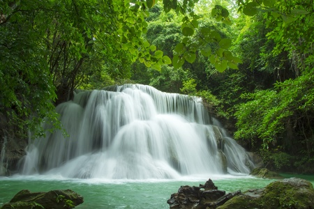 Beautiful Waterfall in Thailand photo