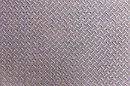 Rusty Diamond steel metal plate background