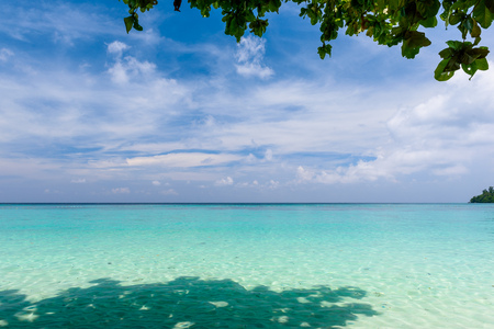 Beautiful sea view of Koh Rok, Krabi Thailand
