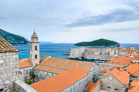 Beautiful view of famous Dubrovnik