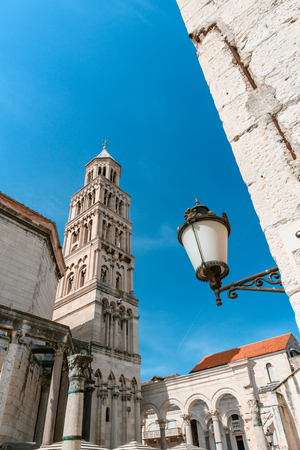 Beautiful old town Split in Croatia