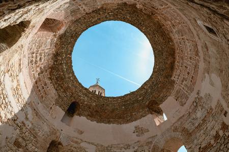 Beautiful old town Split in Croatia