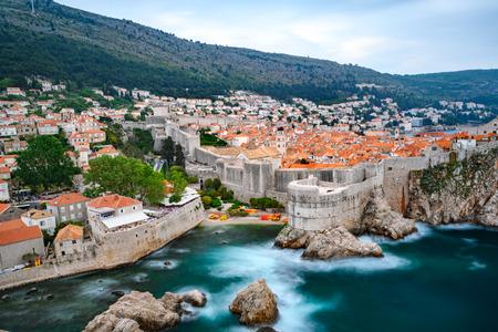 Beautiful view of famous Dubrovnik old Standard-Bild