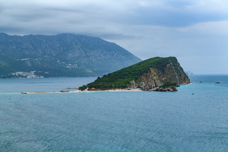 View to the Old Town od Budva in Montenegro from view point