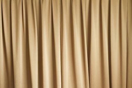 tela blanca: cortinas o cortinas fondo Foto de archivo