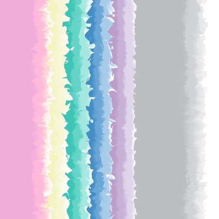 water color border or frame design in pastel color selection VECTOR Stock Vector - 18386742