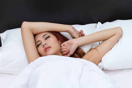 restless: restless sleeping woman
