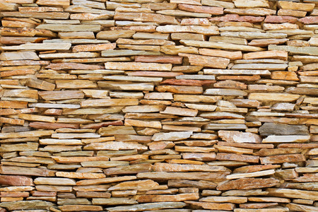 dry stone: vintage stacked stone background