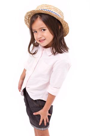 teethy: Portrait of young little girl