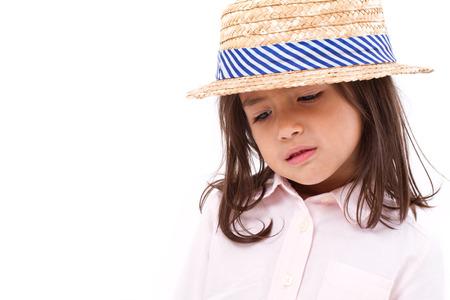 petite fille triste: Sad petite fille