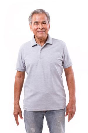 portret van gelukkig lachende man Stockfoto
