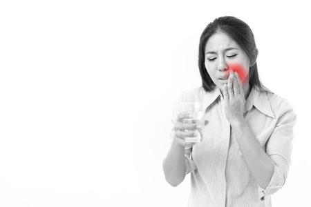 sensitivity: woman suffering from tooth sensitivity