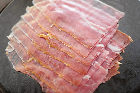 cold cut: sliced ham, cold cut food