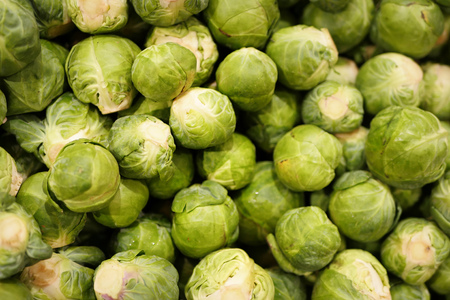 brussels: brussels sprout Stock Photo