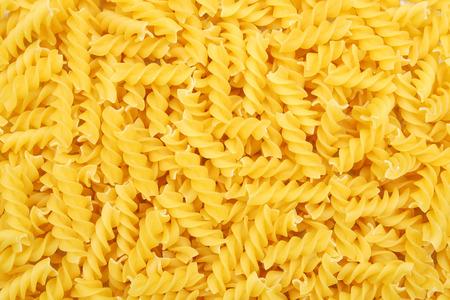 fusilli: fusilli pasta background