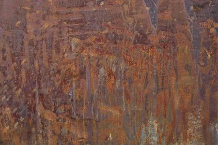 Roest metaal textuur, industriële achtergrond horizontale formaat