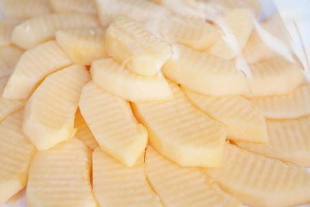 plastic wrap: cantaloupe in plastic wrap
