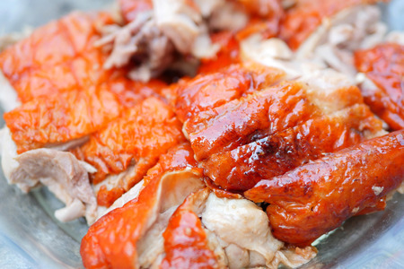 pato: pato asado comida china