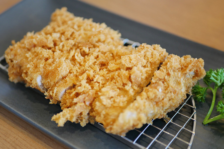 pork: japanese pork cutlet or tonkatsu