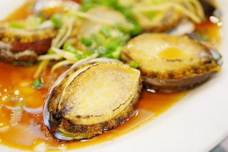 hongkong: abalone in soy sauce, chinese food